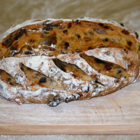 Fruit bread making courses in Poole, Dorset